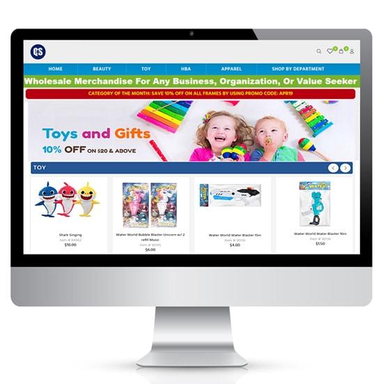 Quickeselling-eCommerce-website