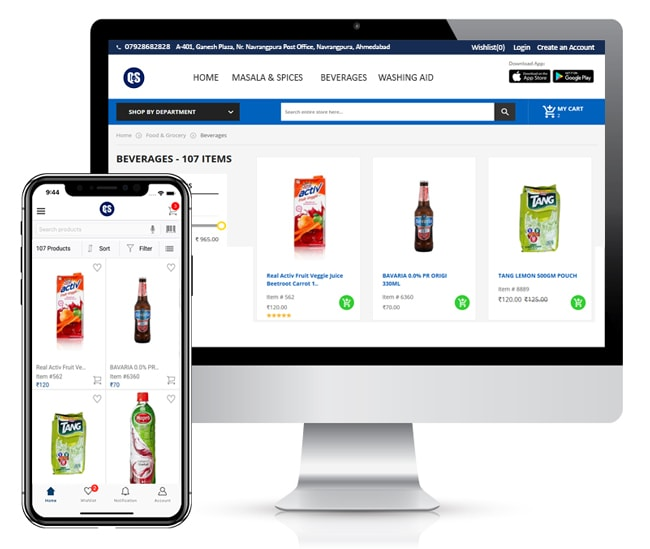 Quickeselling-mobile-app-webstore