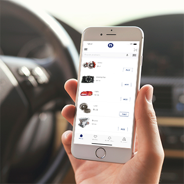 automotive mobile app