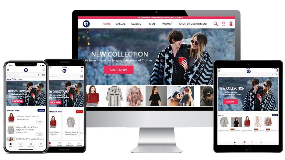 E-commerce-online-store-mobile