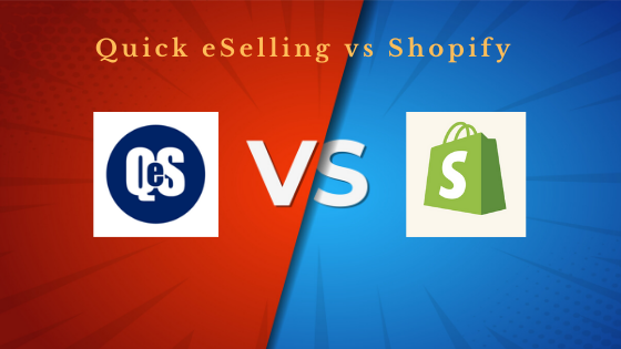 quick eselling vs shopify